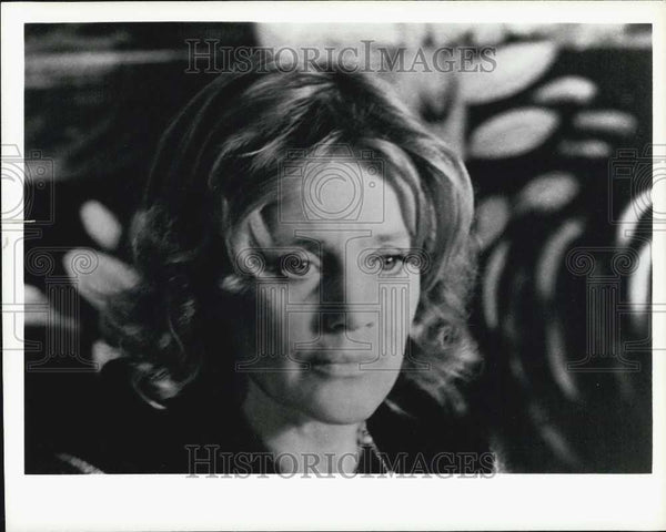 Press Photo Maria Schell. - Historic Images
