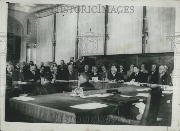 1932 Press Photo General View of the Opening of the League of Nations - Historic Images