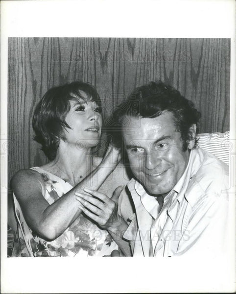 Press Photo Actress Shirley Maclaine & Milos Forman - Historic Images