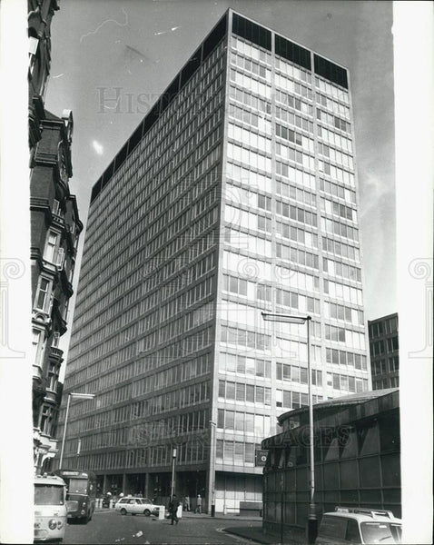 Press Photo New Scotland Yard Headquarters Exterior - Historic Images