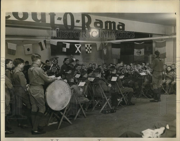 1939 Press Photo of the newly organized Scout O Rama. - Historic Images