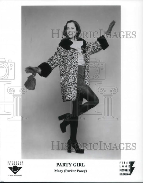 1995 Press Photo Parker Posey in Party Girl - cvp22755 - Historic Images