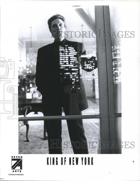 1991 Press Photo Christopher Walken in King of New York - cvp26244 - Historic Images