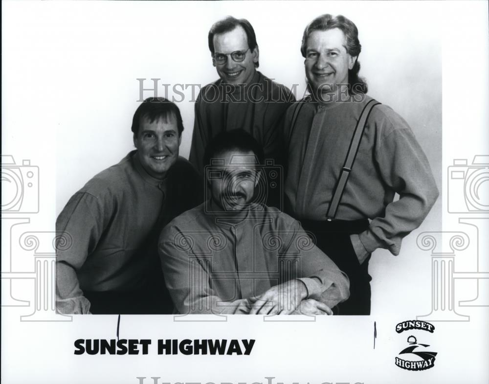 "1999 Press Photo Musical group ""Sunset Highway"" - cvp28175 - Historic Images"