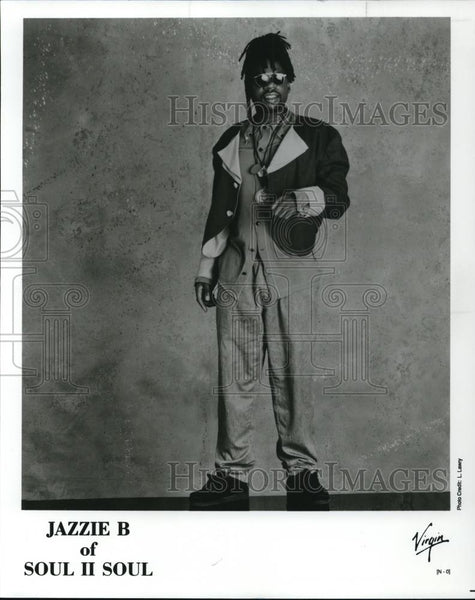1990 Press Photo Jazzie B of Soul II Soul - cvp27885 - Historic Images