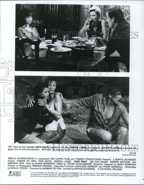 1991 Press Photo Cape Fear - cvp27901 - Historic Images