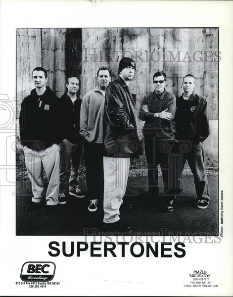 1998 Press Photo Supertones - cvp27952 - Historic Images
