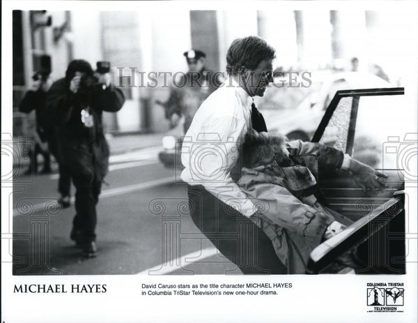 1997 Press Photo David Caruso in Michael Hayes - cvp27753 - Historic Images