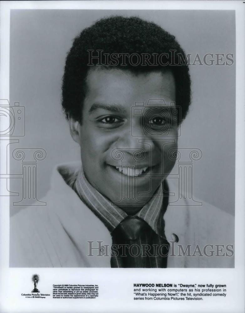 1986 Press Photo Haywood Nelson As Dwayne In What S Happening Now Cv Historic Images Haywood nelson born march 25 1960 in new york city is an american actor he is best known for having portrayed dwayne nelson on the television series what. 1986 press photo haywood nelson as dwayne in what s happening now cvp20163