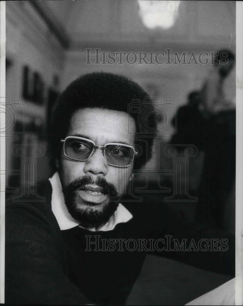1973 Press Photo Robert Hooks, D.C. Director - cvp22092 - Historic Images