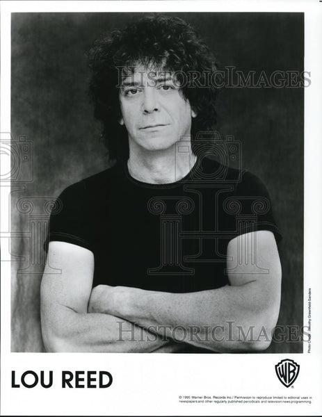 1995 Press Photo Lou Reed - cvp28296 - Historic Images