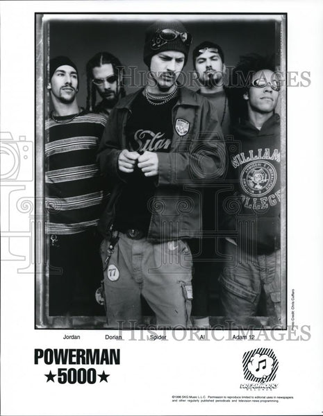 1996 Press Photo Powerman 5000 - cvp28267 - Historic Images