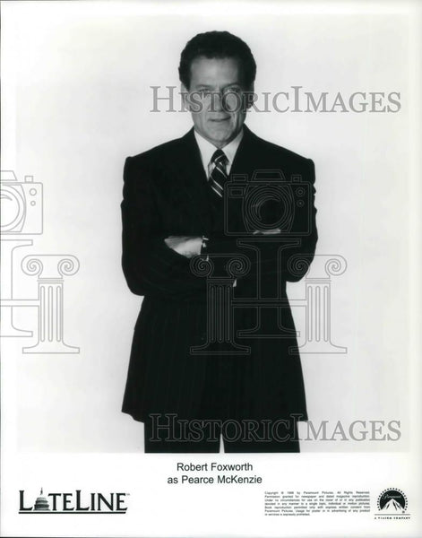 Press Photo Robert Foxworth as Pearce McKenzie in Lateline - cvp20537 - Historic Images