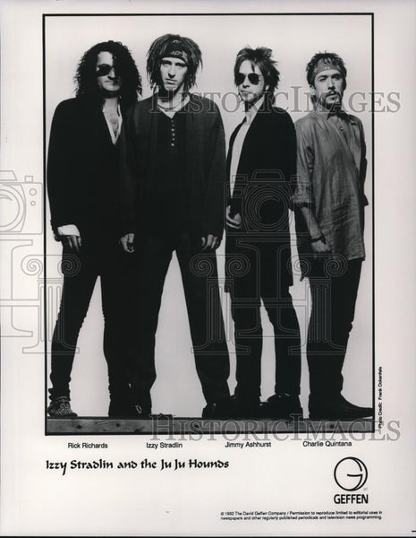 1992 Press Photo Izzy Stradlin and the JuJu Hounds - cvp27929 - Historic Images