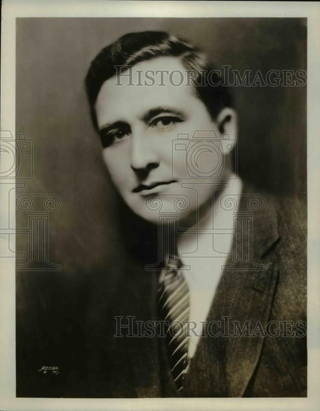 1929 Press Photo Portrait of Allen McQuhae - Historic Images