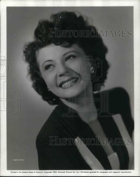 1948 Press Photo Harriet Hilliard in Universal's Hi, Buddy - cvp21929 - Historic Images