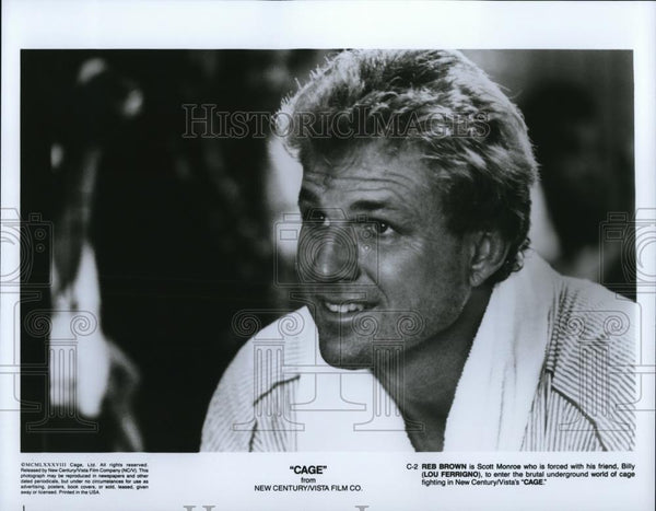 1990 Press Photo Movie Cage - 713 - cvp28225 - Historic Images