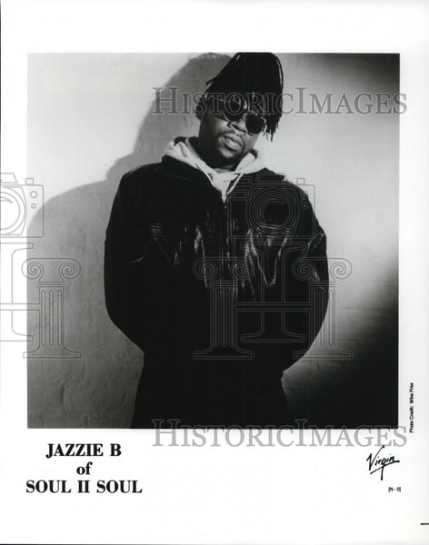 1990 Press Photo Jazzie B of Soul II Soul - cvp27886 - Historic Images