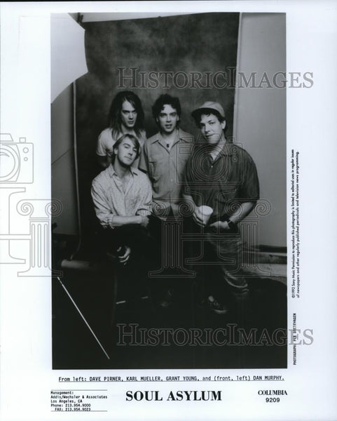 1993 Press Photo Soul Asylum - cvp27883 - Historic Images