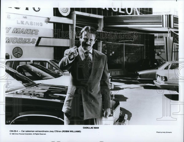 1990 Press Photo Movie Cadillac Man - cvp28227 - Historic Images
