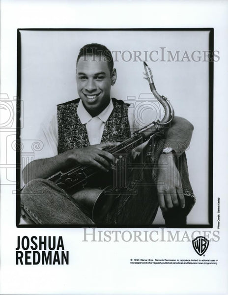 1993 Press Photo Joshua Redman - cvp28291 - Historic Images