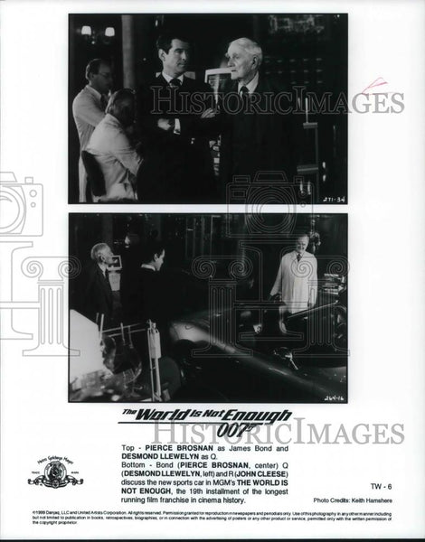 2000 Press Photo Movie 007 The World is Not Enough - cvp20716 - Historic Images