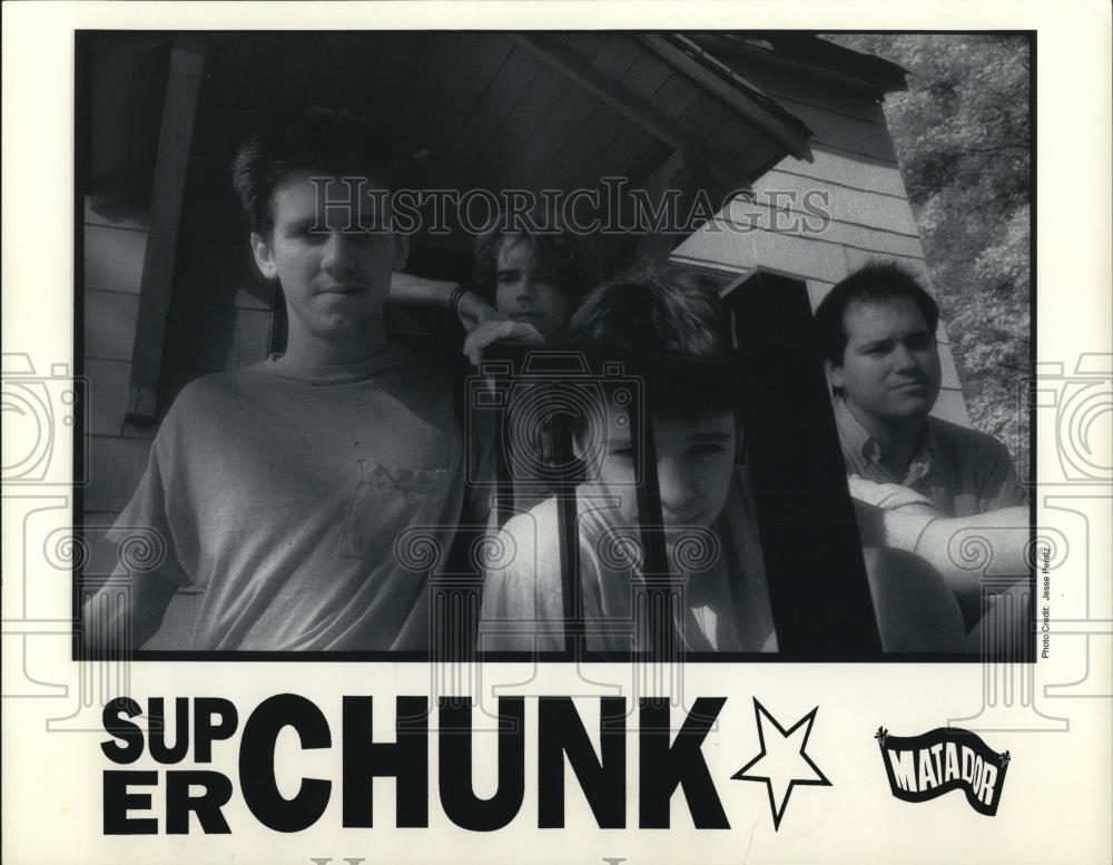 "1995 Press Photo Musical group ""Super Chunk"" - cvp28172 - Historic Images"