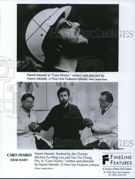 1995 Press Photo Nanni Moretti in Caro Diario - cvp27823 - Historic Images