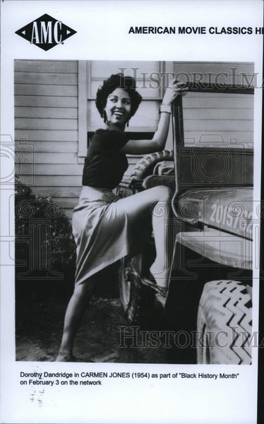 1998 Press Photo Dorothy Dandridge in Carmen Jones - cvp27862 - Historic Images