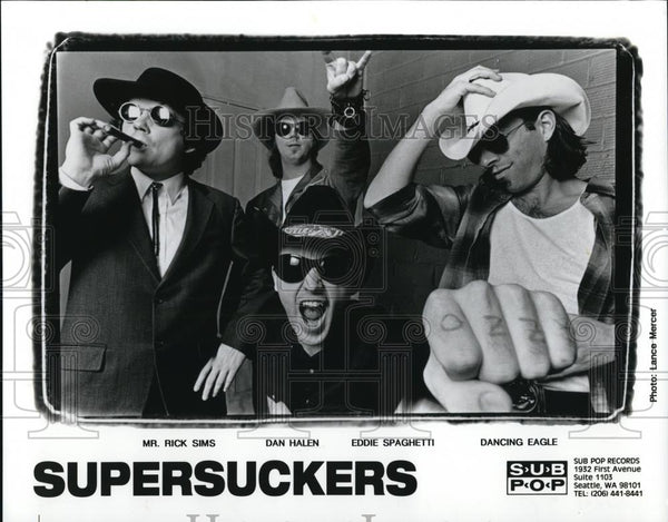 "1999 Press Photo Musical group ""Supersuckers"" - cvp28179 - Historic Images"