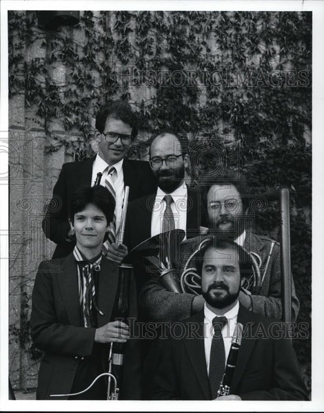 1991 Press Photo The Solaris Quintet - cvp27941 - Historic Images