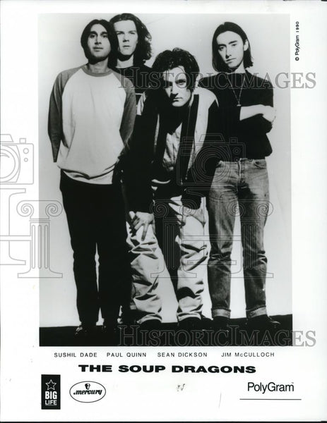 1990 Press Photo The Soup Dragons - cvp27894 - Historic Images