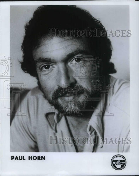 1980 Press Photo Paul Horn in the picture - cvp21700 - Historic Images