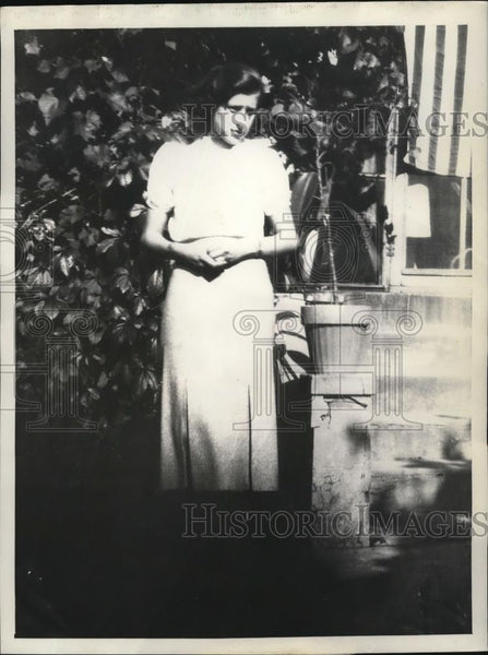 1933 Press Photo Miss Virginia Woodson, daughter of W.W. Woodson - Historic Images