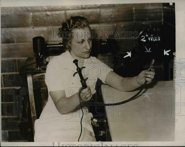 1934 Press Photo The stomach camera, newest type of medical camera - Historic Images