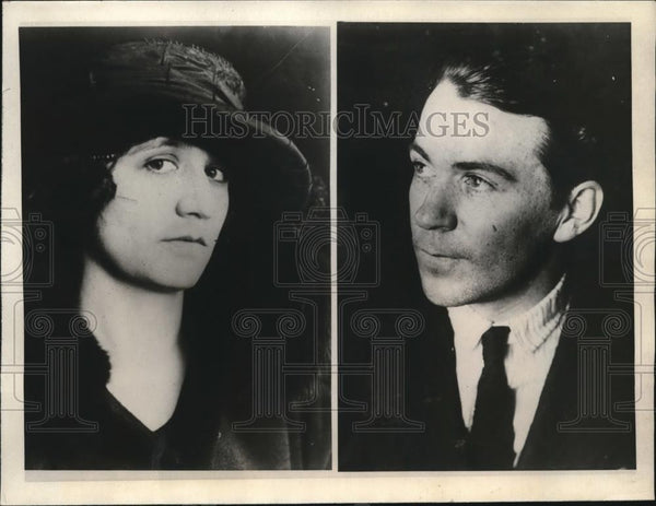 1923 Press Photo John McCarthy shot and wounded Cecil Hopkins - Historic Images