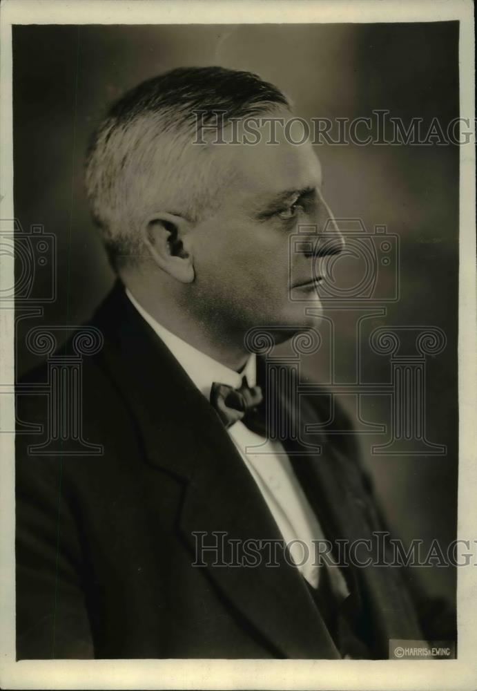 1919 Press Photo Y. Oudegeest, Belgium's labor leader - Historic Images