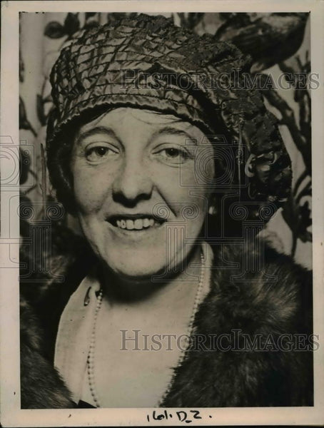 1920 Press Photo Mrs. O.T. Alexander Snubbed Prince Carol, Prince of Romania - Historic Images