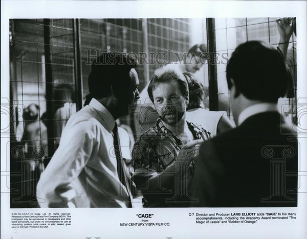 1990 Press Photo Movie Cage - cvp28224 - Historic Images
