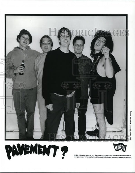 1995 Press Photo Pavement - cvp28255 - Historic Images