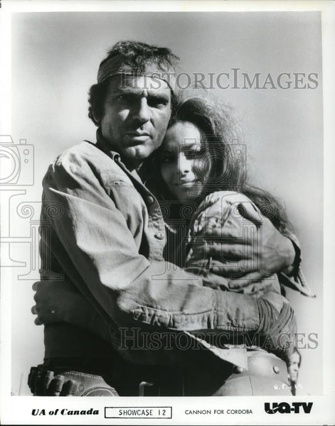 1990 Press Photo Giovanna Ralli in Cannon for Cordova - cvp28000 - Historic Images