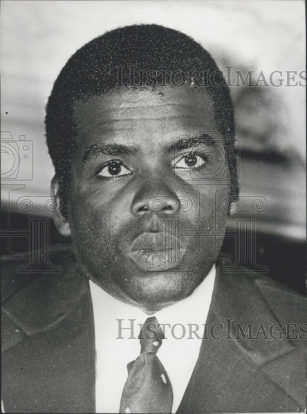 1972 Press Photo M. Marien Ngouabi, President of the People's Republic of Congo - Historic Images