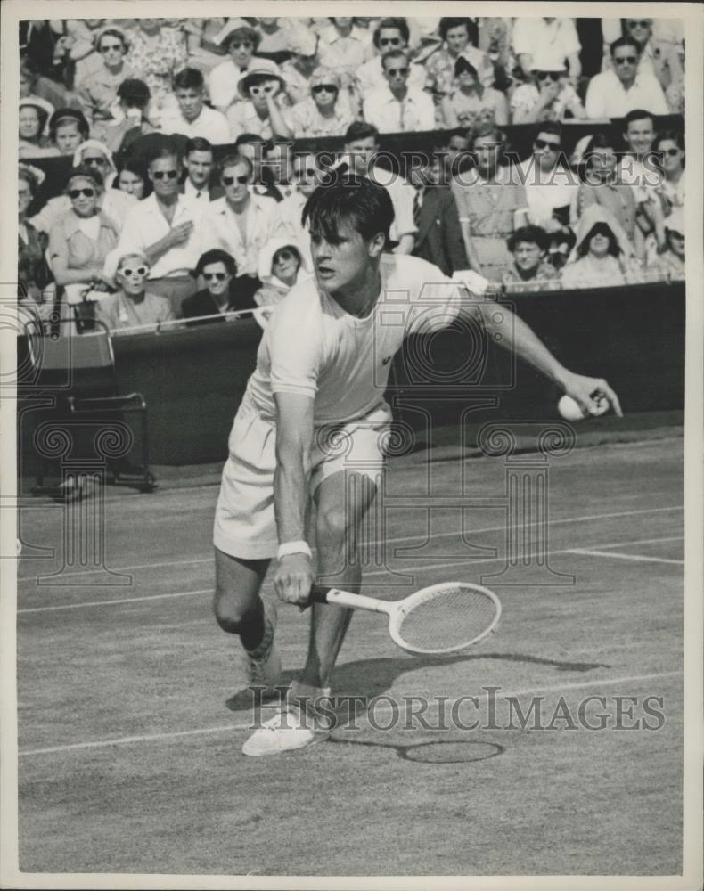 1953 Press Photo Wimbledon Tennis Tournament,S. Davidson - Historic Images