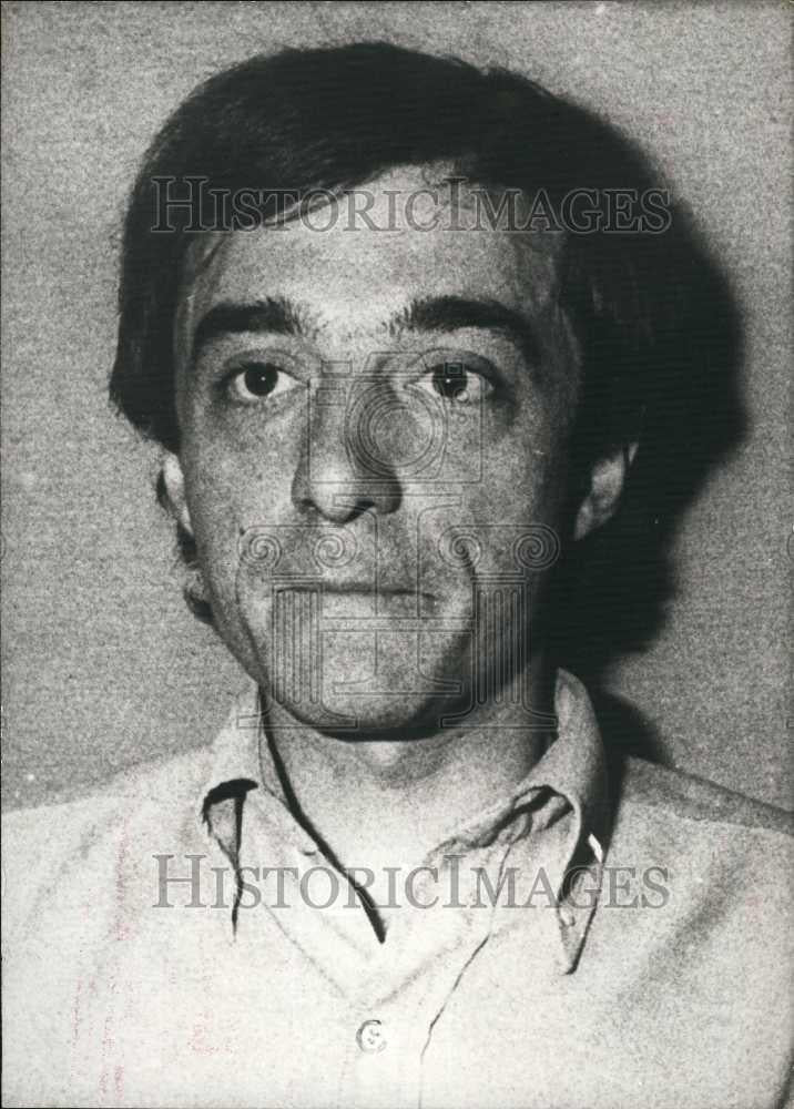 1979 Press Photo Mr Jacques Tillier, journalist arrested as public enemy - Historic Images