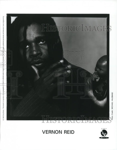 1996 Press Photo Vernon Reid - cvp28301 - Historic Images