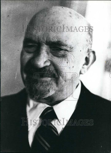 Press Photo Doctor Weizmann of Israel - Historic Images