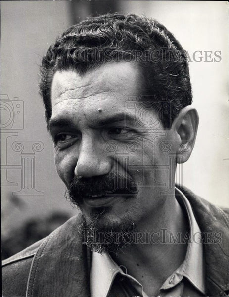 Press Photo Lucio Lara, Political Bureau and Central Committee of MPLA. - Historic Images