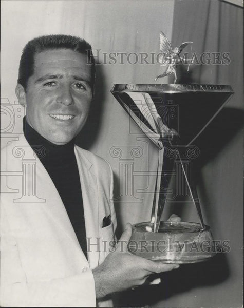 1947 Press Photo Gary Player Wins Piccadilly Match Play Championships - Historic Images