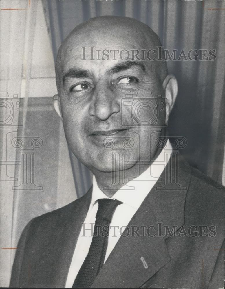 1973 Press Photo Sardar Mohammed Daud.of Afghanistan - Historic Images