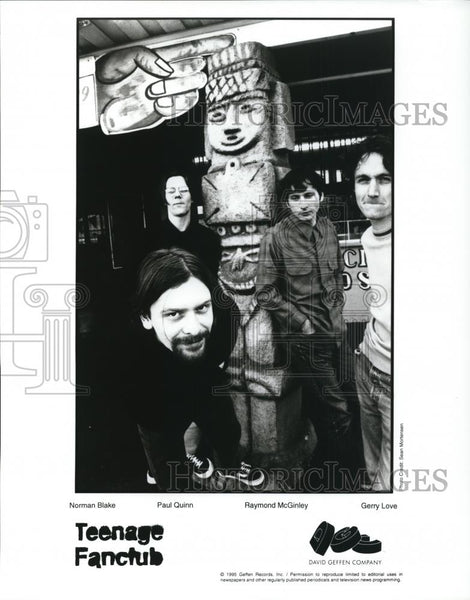 1995 Press Photo Teenage Fanclub - cvp27914 - Historic Images